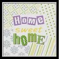 kanaviçe home, etamin sweet home