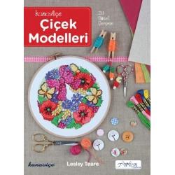 kanaviçe çiçek modelleri kitabı, etamin çiçek modelleri
