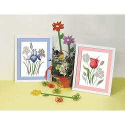 Çiçekli goblen modelleri