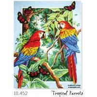 papağanlar gobleni, grafitec goblen